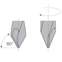 Свёрла сквозные с зенкером L=70 S=Ø10x20