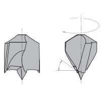 Глухие свёрла с зенкером L=57.5 S=Ø10