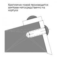 Фреза сборная, с механическим креплением быстросменных ножей, для обработки четырех видов