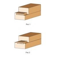 Фреза, с механическим креплением ножей, для сращивания древесины по ширине и длине