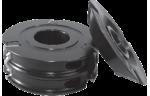 Комплект фрез для обработки фасонных и боковых поверхностей реечного плинтуса на четырехсторонних станках.