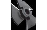 Фреза, напаянная твердым сплавом, для обработки кромки МДФ