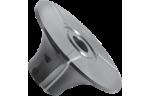 Фреза, с механическим креплением ножей из быстрорежущей инструментальной стали, для обработки радиусной кромки (R75)