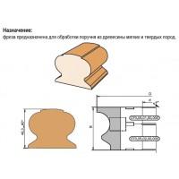Комплект регулируемых фрез для обработки поручня