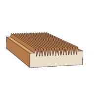 Комплект фрез, напаянных пластинами твердого сплава, для продольного сращивания древесины