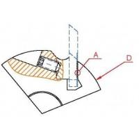 Корпуса фрез с механическим креплением рифленых ножей