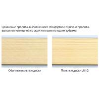 LU1G Твердосплавные дисковые пилы для массивной древесины - скругленные по краям зубья