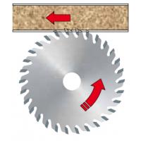 LI17M Твердосплавные подрезные дисковые пилы с прямой заточкой