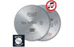 LU5A Твердосплавные дисковые пилы для алюминия и ПВХ положительный угол