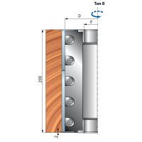 TP05M Фрезерные головы для строгальных станков с сменными ножами из высокопрочной стали