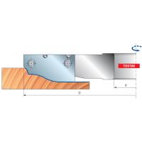 TD51M Филеночные фрезерные головки для мягкой и твердой древесины