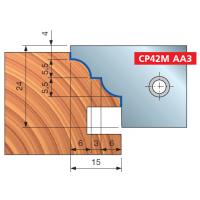 TP42M Многопрофильные фрезерные головки для дверей