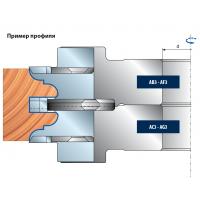 TP46MEC Комплекты многопрофильных фрезерных головок для дверей (38-40 мм)