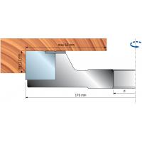 TP48M Фрезерные головки с системой ISOprofil для дверных рам