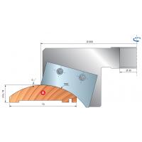 TD60M Профильные фрезерные головки для дверных рам