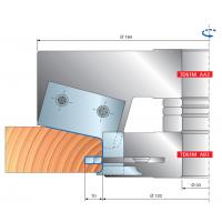 TD61M Профильные фрезерные головки для дверных рам