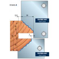 ST12MG-800-ST12MG-801 Комплекты фрезерных головок для профилирования межкомнатных и наружных дверей