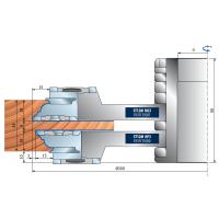 ST12MG-820-ST12MG-821-ST12MG-822 Комплекты шипорезных фрезерных головок