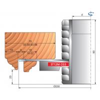 ST12MG-302 Комплекты фрезерных головок для отрезки штапика