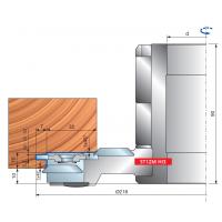 ST12MG -830 Комплекты фрезерных головок для внутренних поверхностей дверных арок