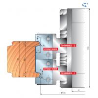 TP43M Комплекты фрезерных головок для вертикальных деталей филенки