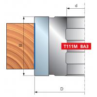 T111M Фрезерные головки для выборки четверти