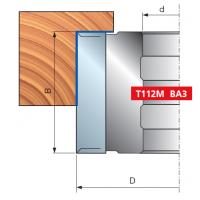 T112M Фрезерные головки для выборки четверти
