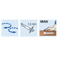 T199M Комплекты регулируемых фрезерных головок для выборки пазов со сменными ножами