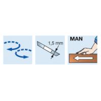 TG08M Регулируемые фрезерные головки со сменными ножами