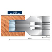 TG18MG Комплекты регулируемых фрезерных головок для выборки пазов