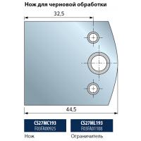 CS27MC - CS27ML Профильные ножи с длиной режущей кромки 40 мм