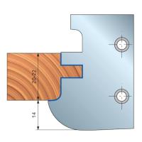 TP44M Многопрофильные фрезерные головки