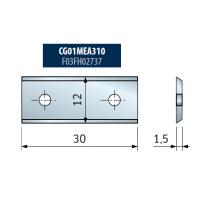 TG74MD Концевые фрезы со сменными ножами и опорным подшипником