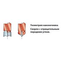 PF07MD - PF07MS Сверла для присадочных станков - глухие отверстия