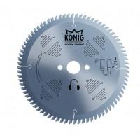 Пильный диск по алюминию для резки пвх и алюминия 300х2x30-32xZ 96 HM