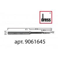 Одноперьевая фреза Dress 6x16/45x90x8 с удлиненной горловиной для легкости подачи