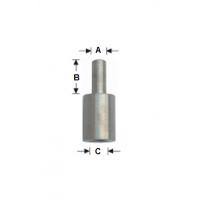 91316 Wemaro Переходник для правого сверла с резьбой на цилиндр 8мм