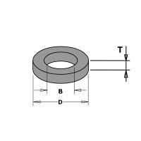 Кольца регулировочные проставочные для насадных фрез серии 694.015  и серии 694.005