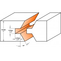 Комплект фрез шип-паз для мебельной обвязки
