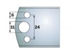 Комплекты бланкет SP ножей и ограничителей для профилирования шириной 50 мм
