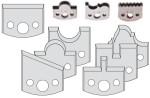 Ножи сменные СМТ профильные SP 50 мм для фрез серий 692 и 693