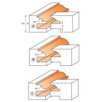 Фреза для мебельной обвязки (комплект)