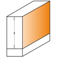 Фрезы алмазные обгонные с нижним подшипником по ламинату D=12,7 мм Z2
