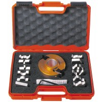 Набор фрезы и ножей 13-ти профилей 692А CMT