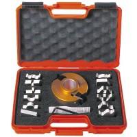 Набор фрезы и ножей 13-ти профилей 692В CMT