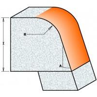 Фрезы для обработки искусственного камня R=12.7