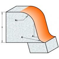 Фрезы фасочные для искусственного камня S-образные