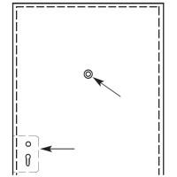 Серия 191 Z3 60° спиральные фрезы для врезки замков