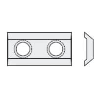 Стандартные двухсторонние пластины (ножи)