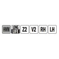 Свёрла твёрдосплавные монолитные для глухих отверстий L=57,5